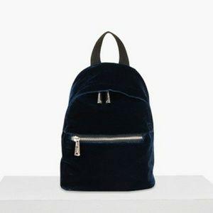 French Connection Velvet Jace Backpack